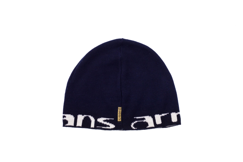ARMANI JEANS Cappello Cappellino Cuffia Uomo BEANIE In Lana Blu Logo ... d2d9db7e3599