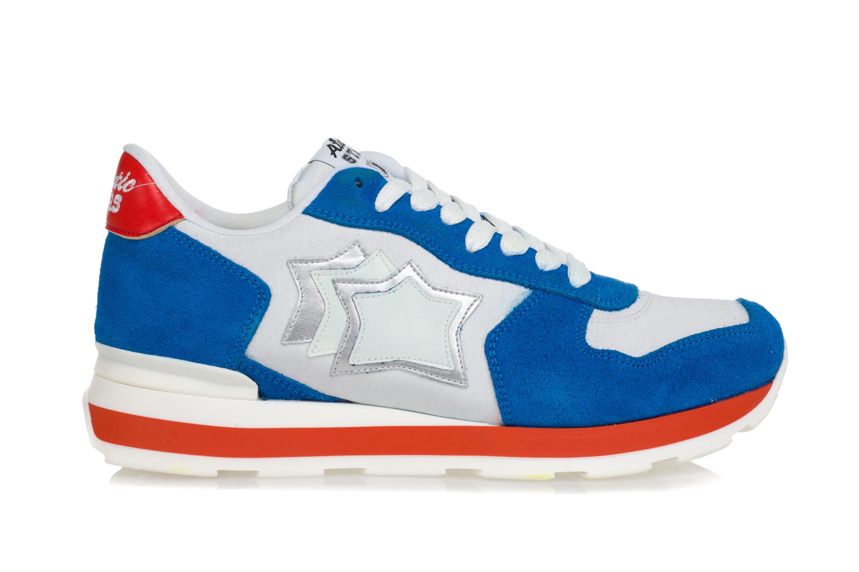 b98b209f0d ATLANTIC STARS Scarpe Sneakers Donna VEGA Running Tessuto Bianco ...