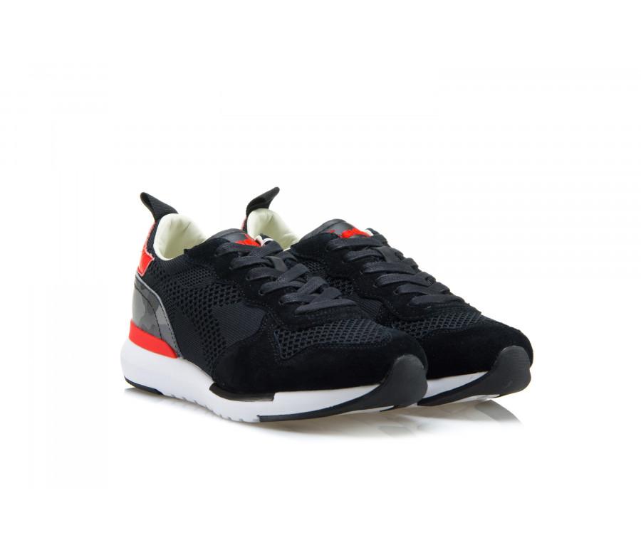 Sneakers 'TRIDENT EVO LIGHT' In Tessuto E Camoscio