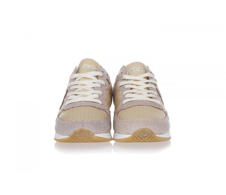 Sneakers 'Tropez' In Pelle Traforata