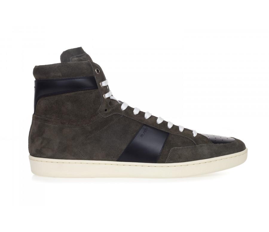 Sneakers Hi-Top 'Sl/10h Signature Court Classic' In Camoscio