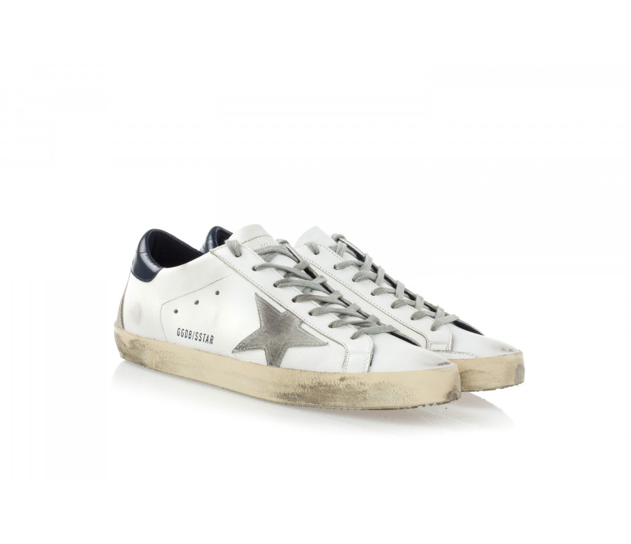 Sneakers 'Superstar' In Pelle E Camoscio