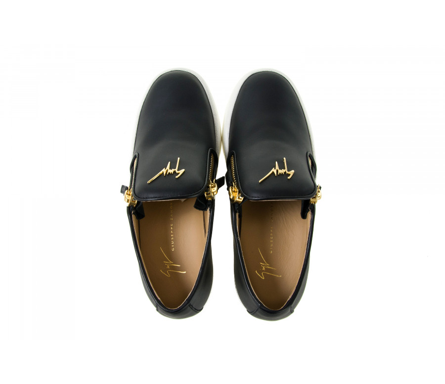 """eve"" leather slip-on sneakers"