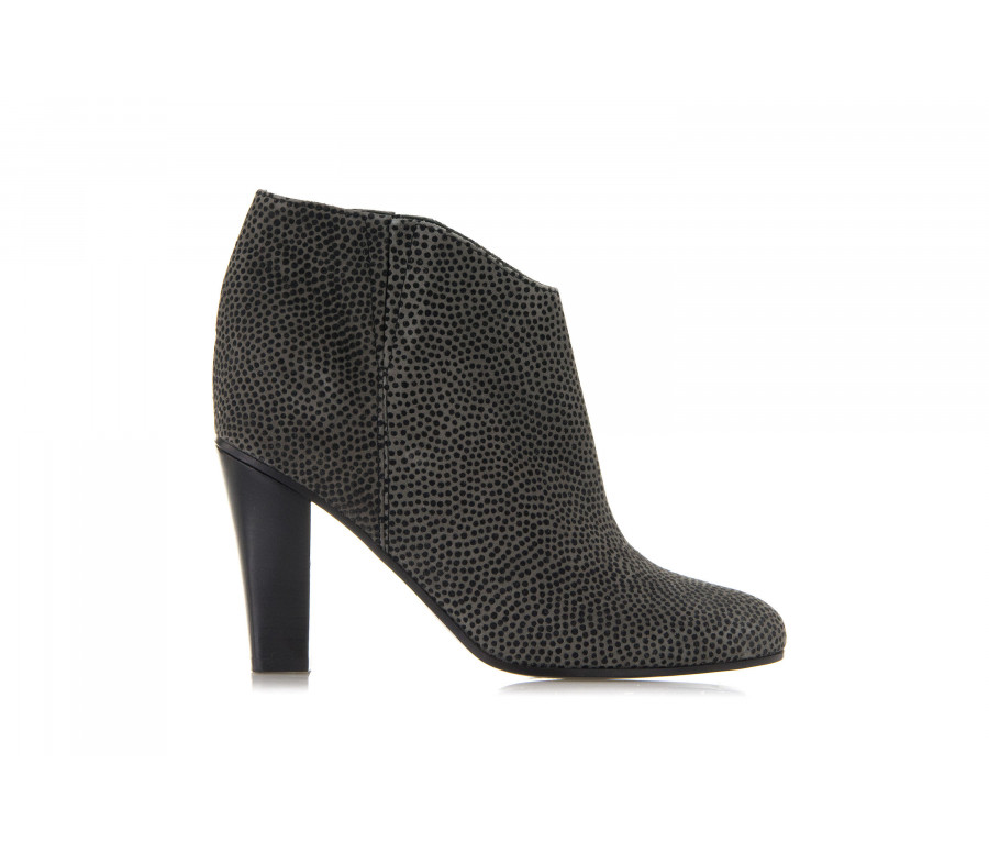 """jen"" printed leather ankle boots"