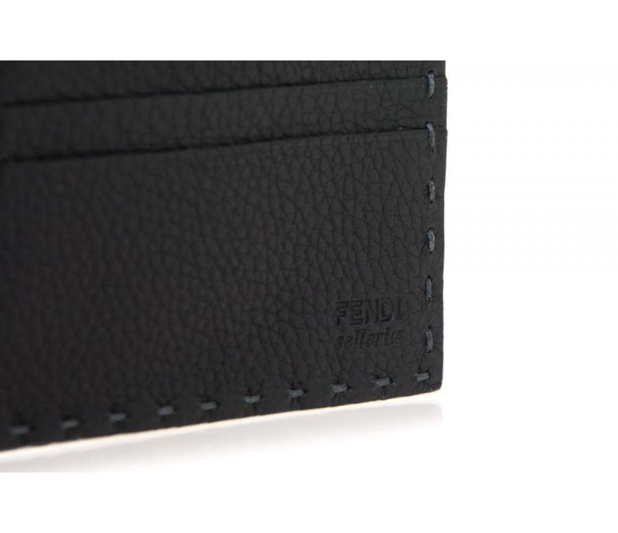 'Selleria' Bi-Fold Leather Wallet