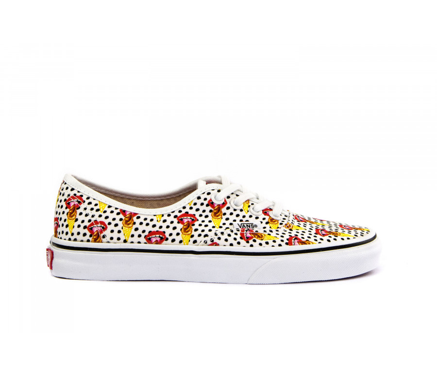 """authentic (kendra dandy)"" canvas sneakers"