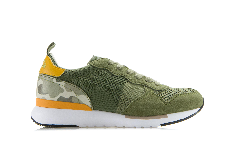 DIADORA HERITAGE Scarpe Sneakers Uomo Donna TRIDENT EVO LIGHT Camoscio Verde