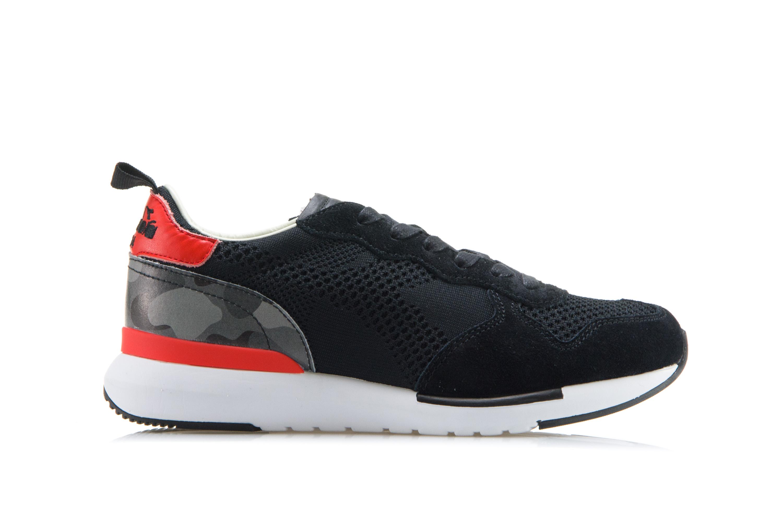 DIADORA HERITAGE Scarpe Sneakers Uomo Donna TRIDENT EVO LIGHT Camoscio Nero