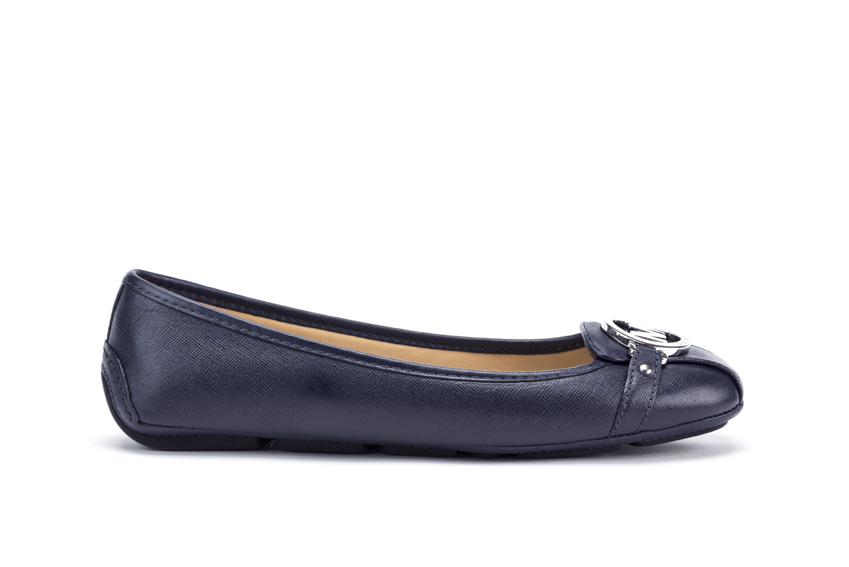 Details about Womens Shoes MICHAEL KORS Moccasins FULTON Ballerina Flats  40T5FDFR3L ADMIRAL c7638f778ea