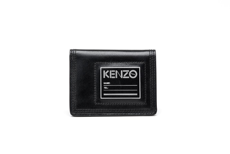 4670c60a4a Porta Carte Di Credito Uomo KENZO Pelle Nera F665PM101 L42 99 ...