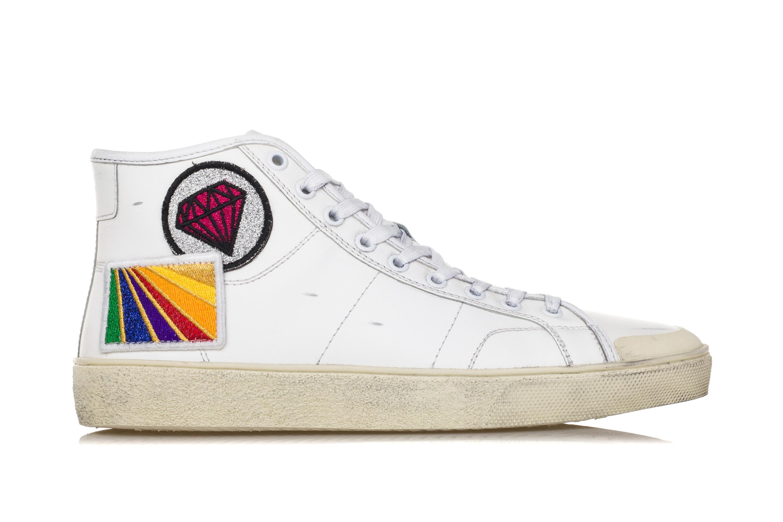 Court Uomo Saint Sl37m Signature Laurent Scarpe Sneakers Patch IHE29eWDY