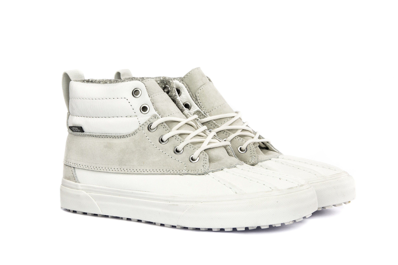 VANS Womens Shoes High Top Sneakers SK8-HI DEL PATO MTE White ... 826d4835764
