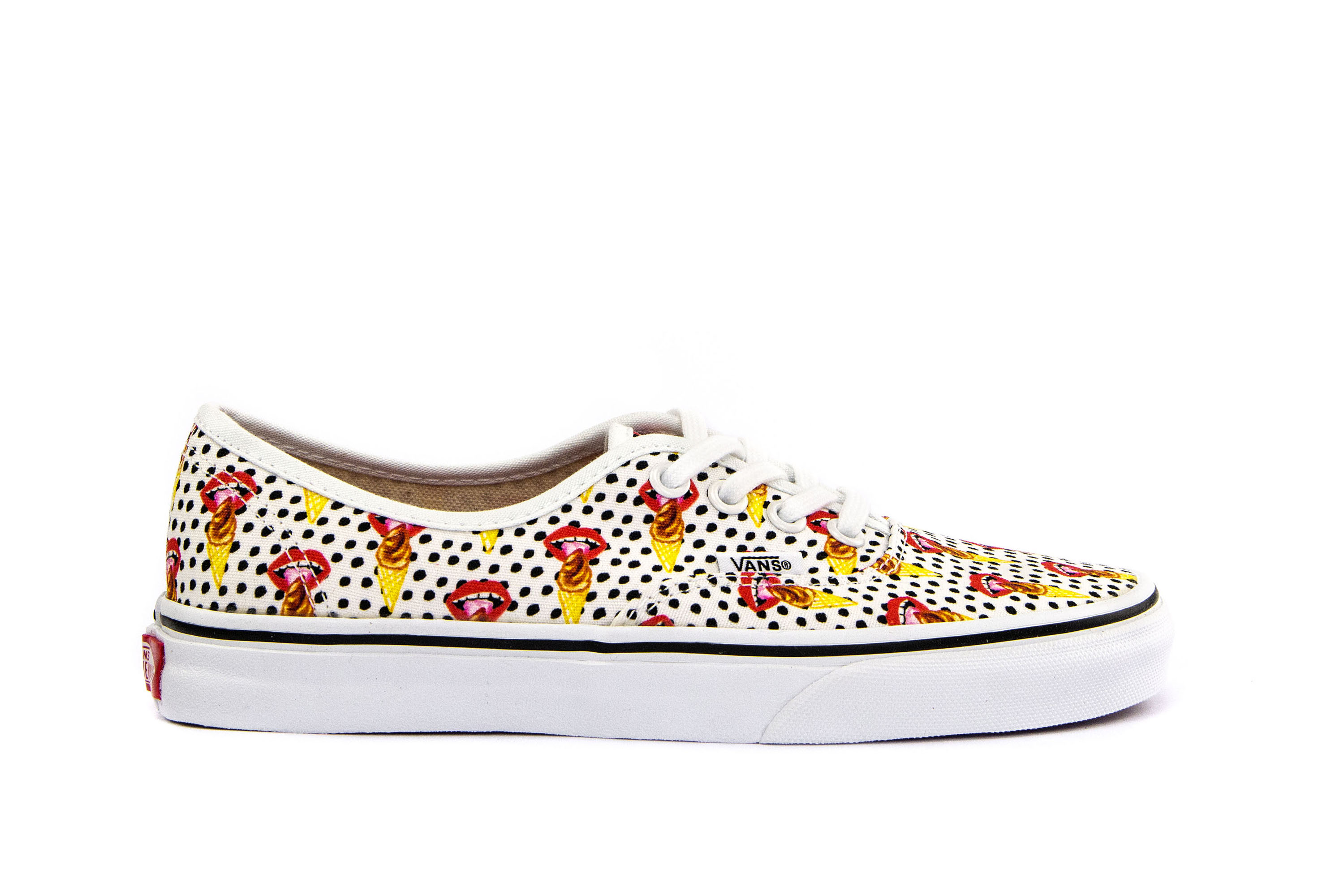 5cd85f924d8c VANS Womens Shoes Lace-Up Sneakers AUTHENTIC (KENDRA DANDY) Printed ...
