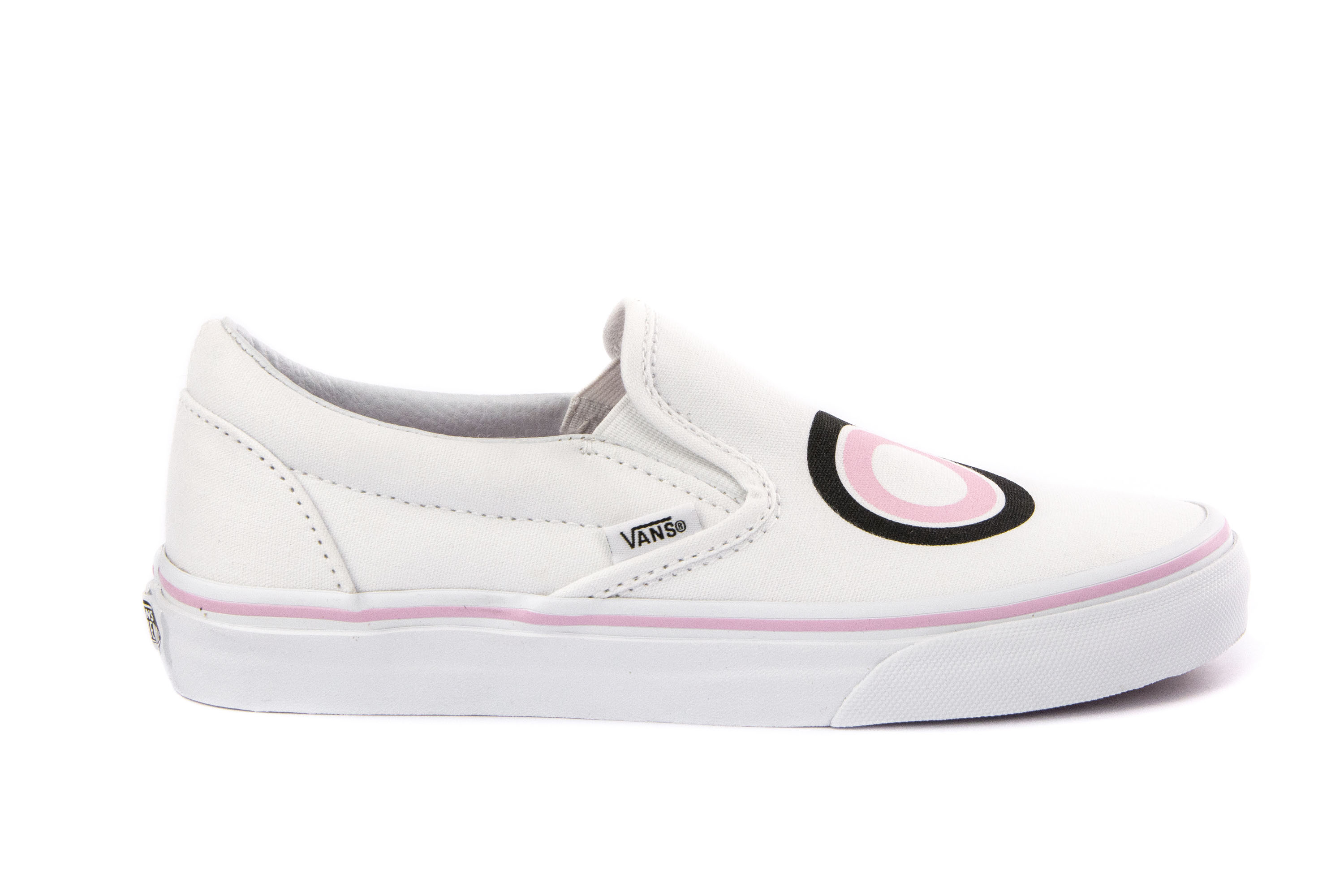 fab3c97dec Details about VANS Womens Shoes Sneakers Skate CLASSIC SLIP-ON White  Printed Canvas